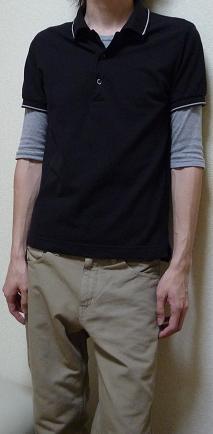d0146758_1025840.jpg ○無印良品:ポロシャツ ...