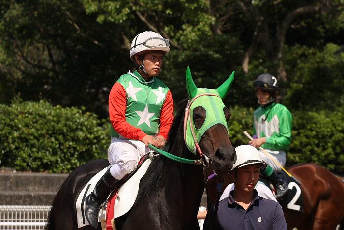 寺地誠一騎手、応援騎乗ありがとうございました_a0077663_18344981.jpg