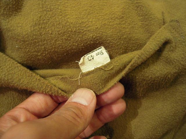 ウールハンティングジャケット。_d0121303_12265610.jpg