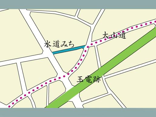 大山道追分と水道みち_f0091067_21585873.jpg