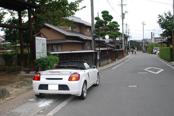 オープンカーで小布施_c0177814_1163835.jpg