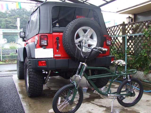 JKラングラー と オフロード 自転車_b0123820_1421423.jpg