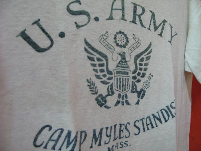 商品UP #21 WWⅡ U.S ARMY T-shirts_c0144020_13395928.jpg