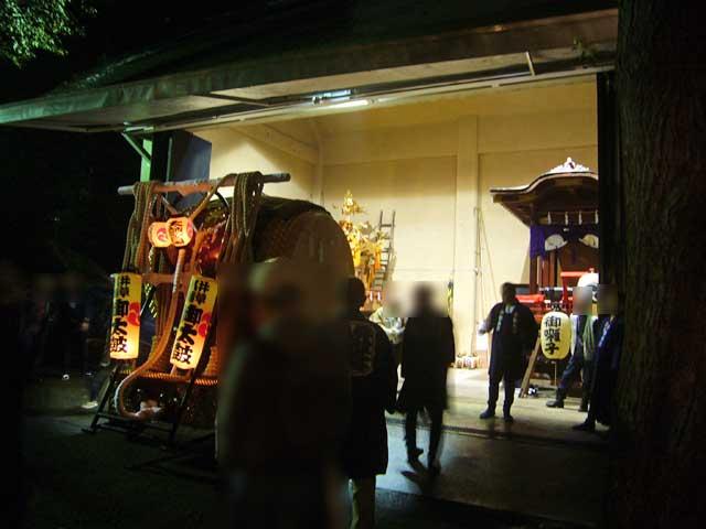 2008年 井草八幡宮の例大祭宵宮_a0016730_23196100.jpg
