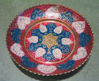 南インドの飾り皿入荷しました。_a0077752_20352670.jpg