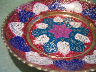 南インドの飾り皿入荷しました。_a0077752_2035370.jpg