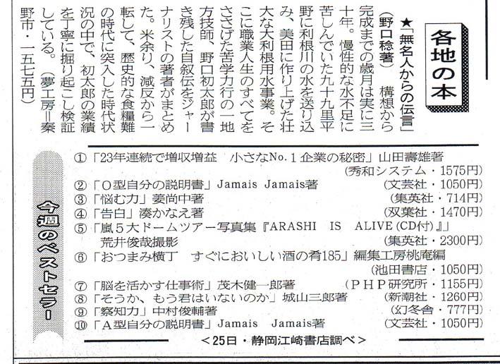 読売新聞、日本農業新聞、静岡新聞などメディアが紹介_c0014967_1514435.jpg