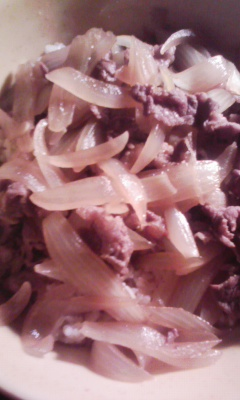 汁だく牛丼大盛りペロリ_f0168392_036875.jpg