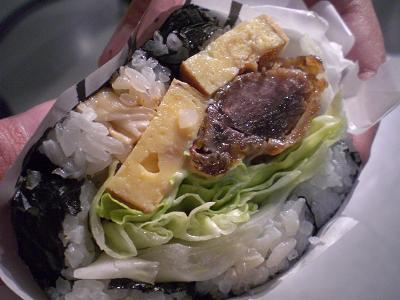 お肉VSお寿司。_b0125443_1927619.jpg