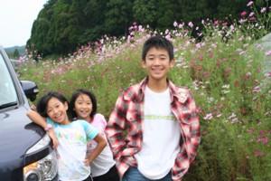 楽しい家族旅行~三瀬りんご狩り~_d0082356_1455844.jpg
