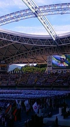 チャレンジ 大分国体 2008 第63回国民体育大会開会式。。。。天皇陛下のおことば_a0053662_227142.jpg