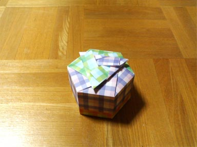 クリスマス 折り紙 ユニット折り紙箱 : mrtn.exblog.jp