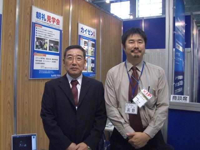 機械要素技術展2日目_d0085634_22311569.jpg