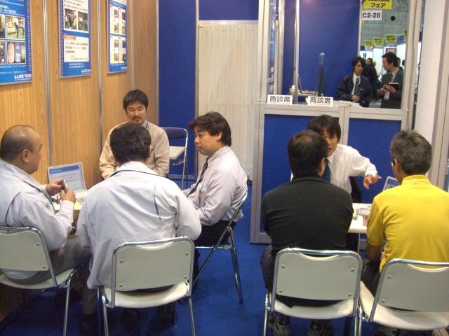 機械要素技術展2日目_d0085634_22381670.jpg