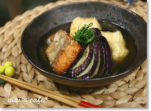 秋鮭と豆腐のあんかけ揚げ出し_a0056451_13284334.jpg