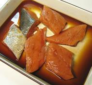 秋鮭と豆腐のあんかけ揚げ出し_a0056451_13294052.jpg