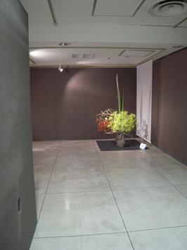 柏高島屋にて草月流花展_e0109554_2061228.jpg