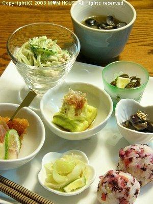小鉢にいろいろ楽しい☆Café風おつまみゴハン♪_c0139375_1621112.jpg