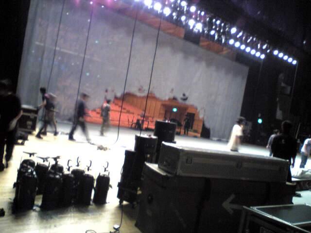 長野→東京 / 本日の舞台スタッフの皆さん!_e0142585_2343149.jpg