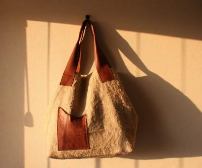 スイス郵便袋のバッグ1_a0102486_2117061.jpg