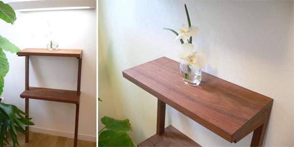 コンソールテーブル (壁面飾り棚)_e0115686_9515181.jpg