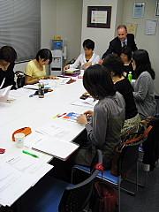 栄養士のための英会話教室、第1回目がスタート。_d0046025_1403646.jpg