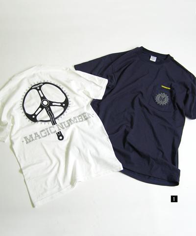 MAGIC NUMBER × TRACKHEADS Tシャツ。_f0130725_11535374.jpg