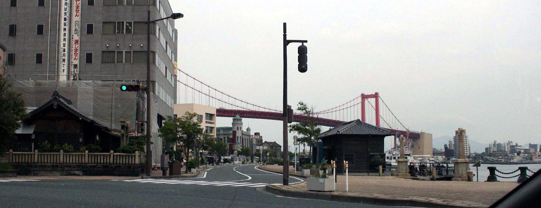 「警官の血」ロケ地  若戸大橋の下  北九州のまちづくり3_a0107574_20115095.jpg