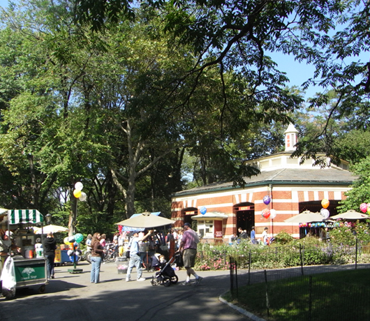 セントラルパークにあるメリーゴーランド Carousel_b0007805_2141162.jpg