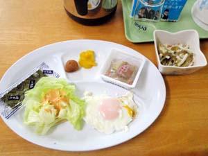 10月4日 朝食+弁当作り_b0158746_1583889.jpg