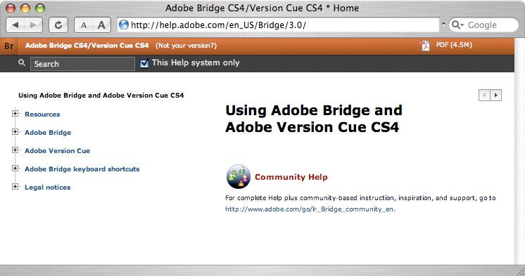 Adobe Photoshop CS4 と Bridge CS4 のオンラインヘルプ(英文)_f0077521_9292652.jpg
