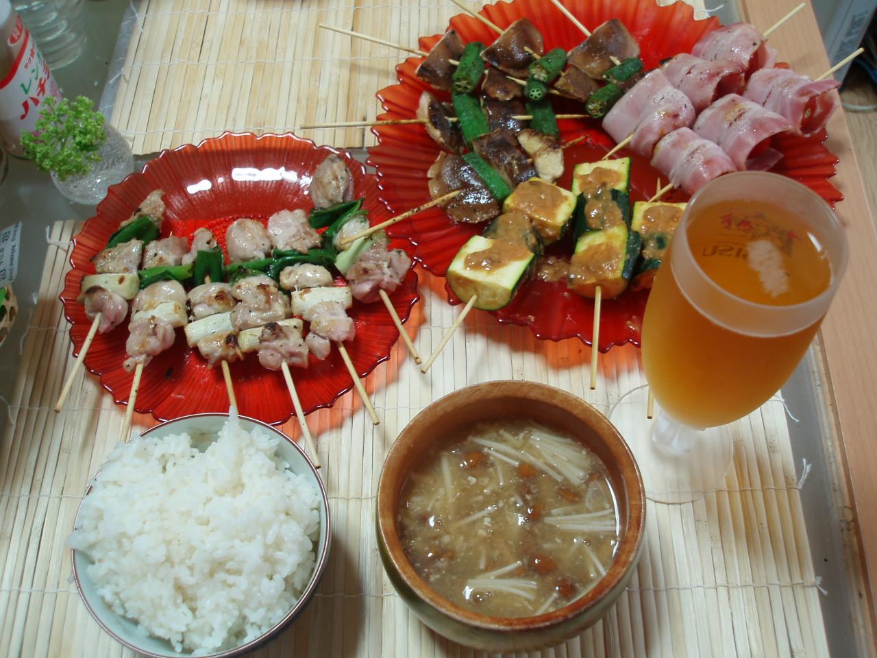 楽しい串焼き大パーティー♪_b0137453_18192238.jpg