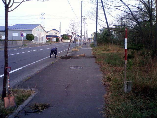 町内の秋の掃除!_f0150893_17574435.jpg