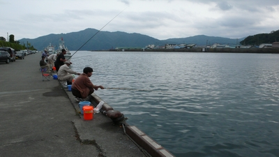 08' 10 05(日)の釣り 宮古港にて : 山奥日報
