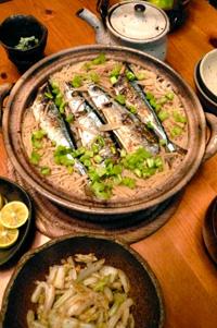Z家の晩ごはん〜秋刀魚ごはん_a0017350_015728.jpg
