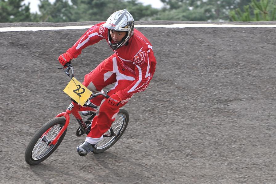 第55回全日本プロ選手権自転車競技大会BMX競技INひたち:全クラスの予選その2_b0065730_6533059.jpg