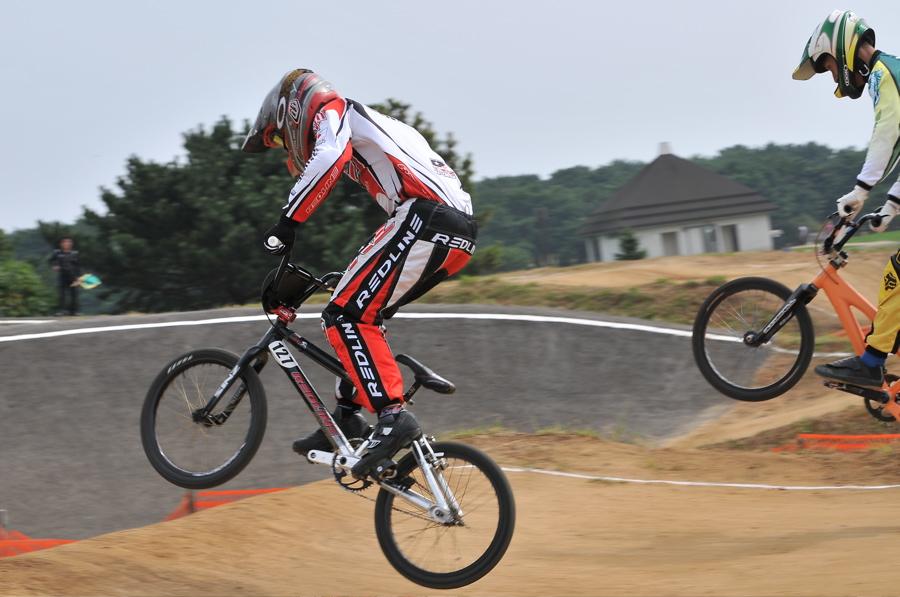 第55回全日本プロ選手権自転車競技大会BMX競技INひたち:全クラスの予選その2_b0065730_6563048.jpg