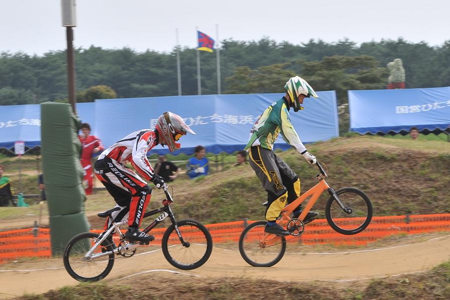 第55回全日本プロ選手権自転車競技大会BMX競技INひたち:全クラスの予選その2_b0065730_65941100.jpg