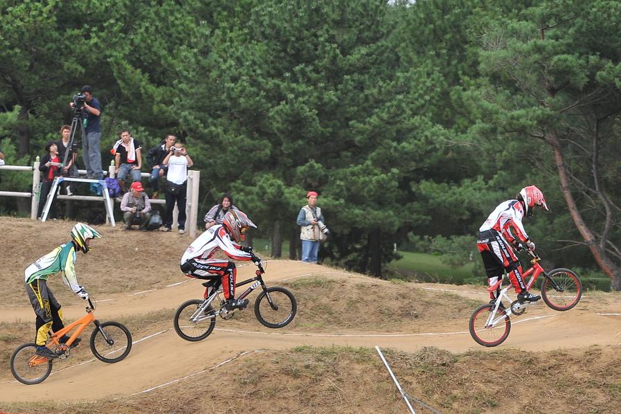 第55回全日本プロ選手権自転車競技大会BMX競技INひたち:全クラスの予選その2_b0065730_7101762.jpg