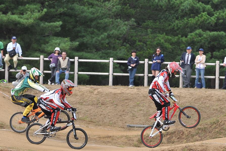 第55回全日本プロ選手権自転車競技大会BMX競技INひたち:全クラスの予選その2_b0065730_71034.jpg