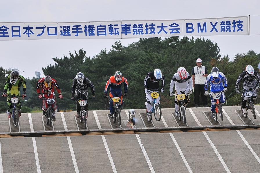 第55回全日本プロ選手権自転車競技大会BMX競技INひたち:全クラスの予選その2_b0065730_7113288.jpg