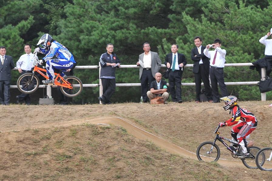 第55回全日本プロ選手権自転車競技大会BMX競技INひたち:全クラスの予選その2_b0065730_7123142.jpg