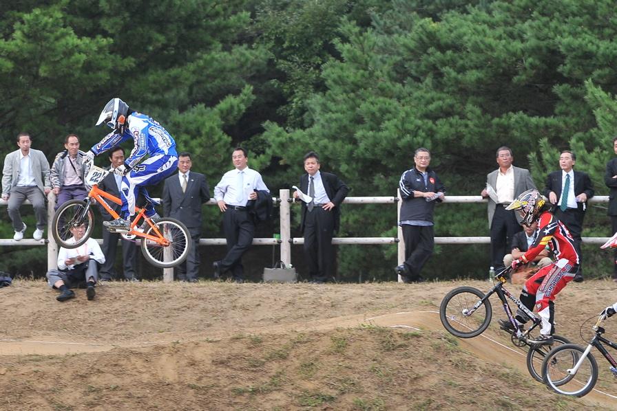 第55回全日本プロ選手権自転車競技大会BMX競技INひたち:全クラスの予選その2_b0065730_712474.jpg