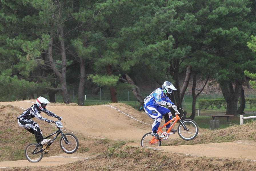 第55回全日本プロ選手権自転車競技大会BMX競技INひたち:全クラスの予選その2_b0065730_7141147.jpg