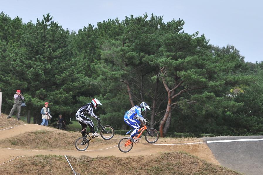 第55回全日本プロ選手権自転車競技大会BMX競技INひたち:全クラスの予選その2_b0065730_7142342.jpg