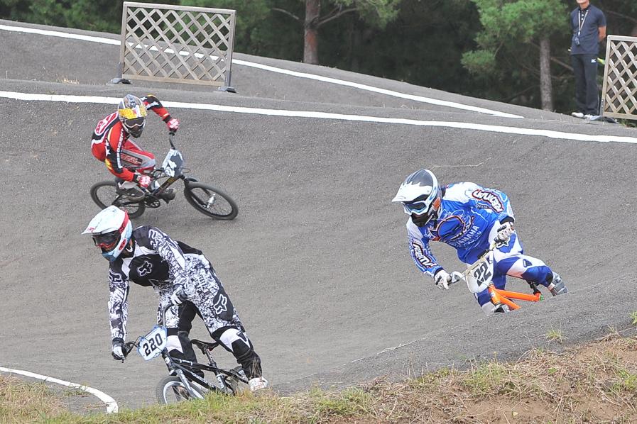 第55回全日本プロ選手権自転車競技大会BMX競技INひたち:全クラスの予選その2_b0065730_71437100.jpg