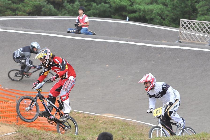 第55回全日本プロ選手権自転車競技大会BMX競技INひたち:全クラスの予選その2_b0065730_715359.jpg