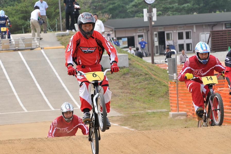 第55回全日本プロ選手権自転車競技大会BMX競技INひたち:全クラスの予選その2_b0065730_722342.jpg