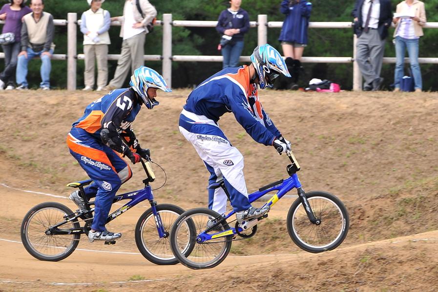 第55回全日本プロ選手権自転車競技大会BMX競技INひたち:全クラスの予選その2_b0065730_752147.jpg