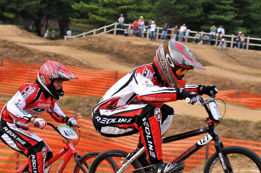第55回全日本プロ選手権自転車競技大会BMX競技INひたち:全クラスの予選その2_b0065730_774389.jpg